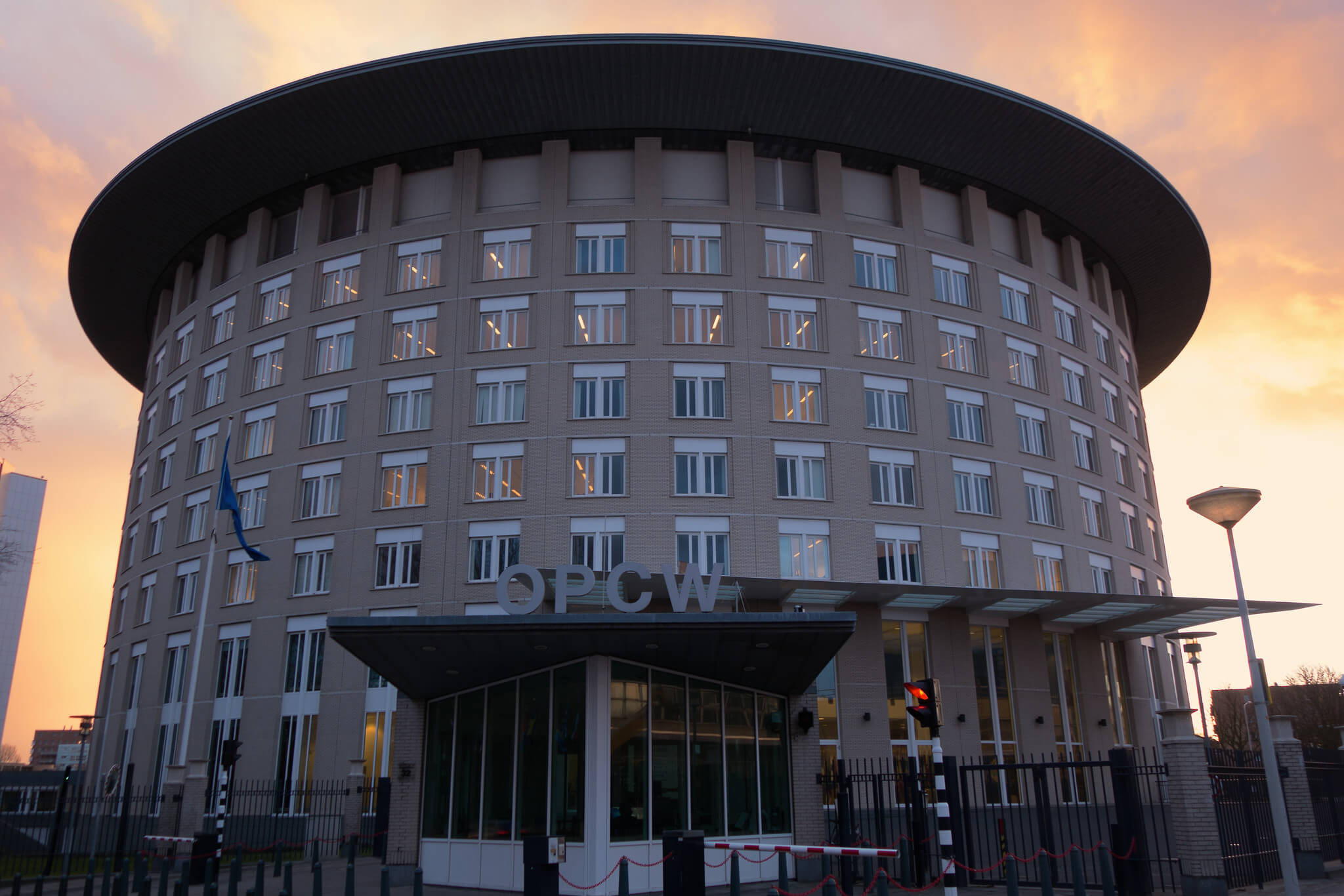 OPCW Headquarters in the Hague. © OPCW / Flickr