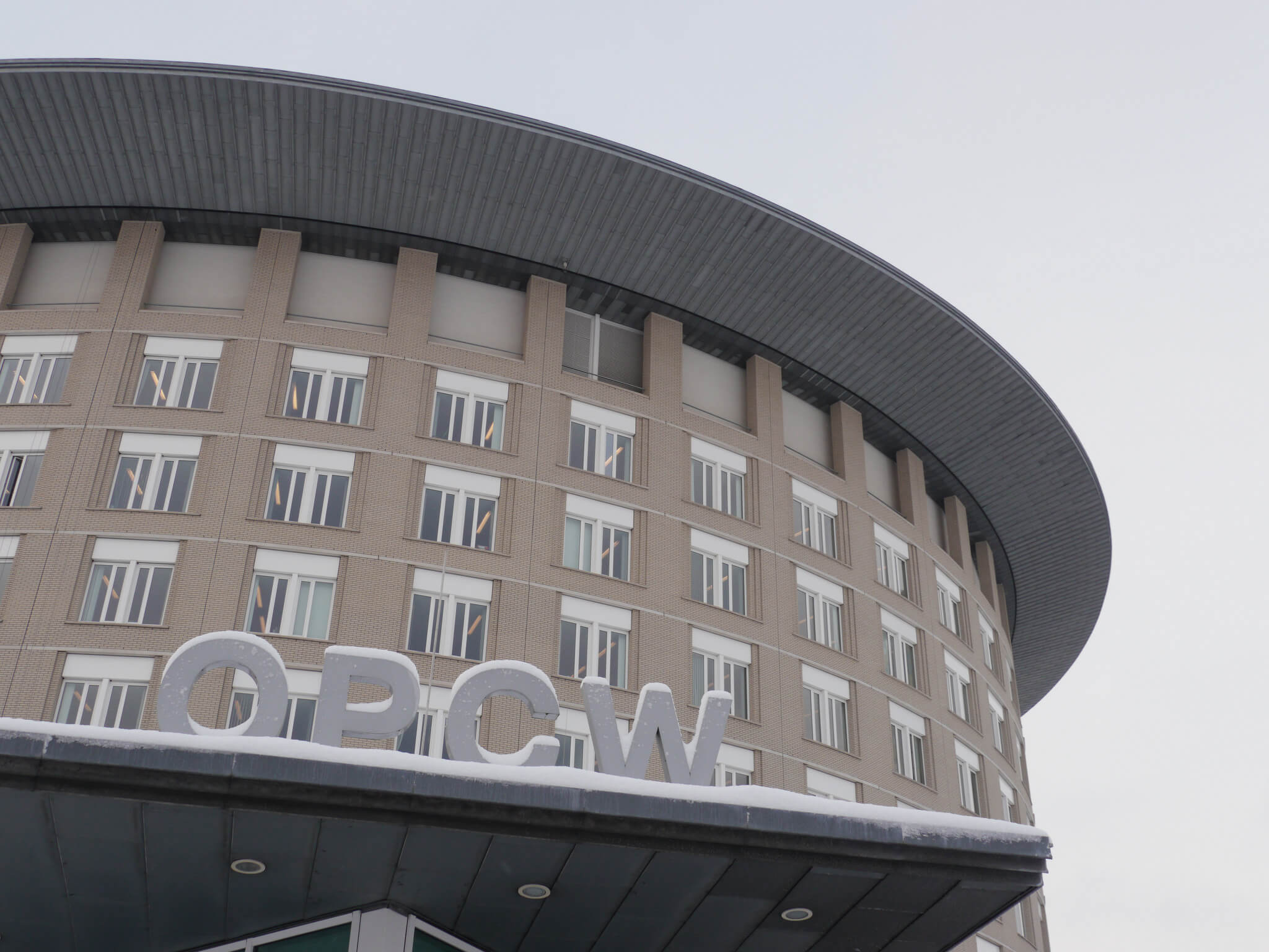 The OPCW headquarters © OPCW / Flickr