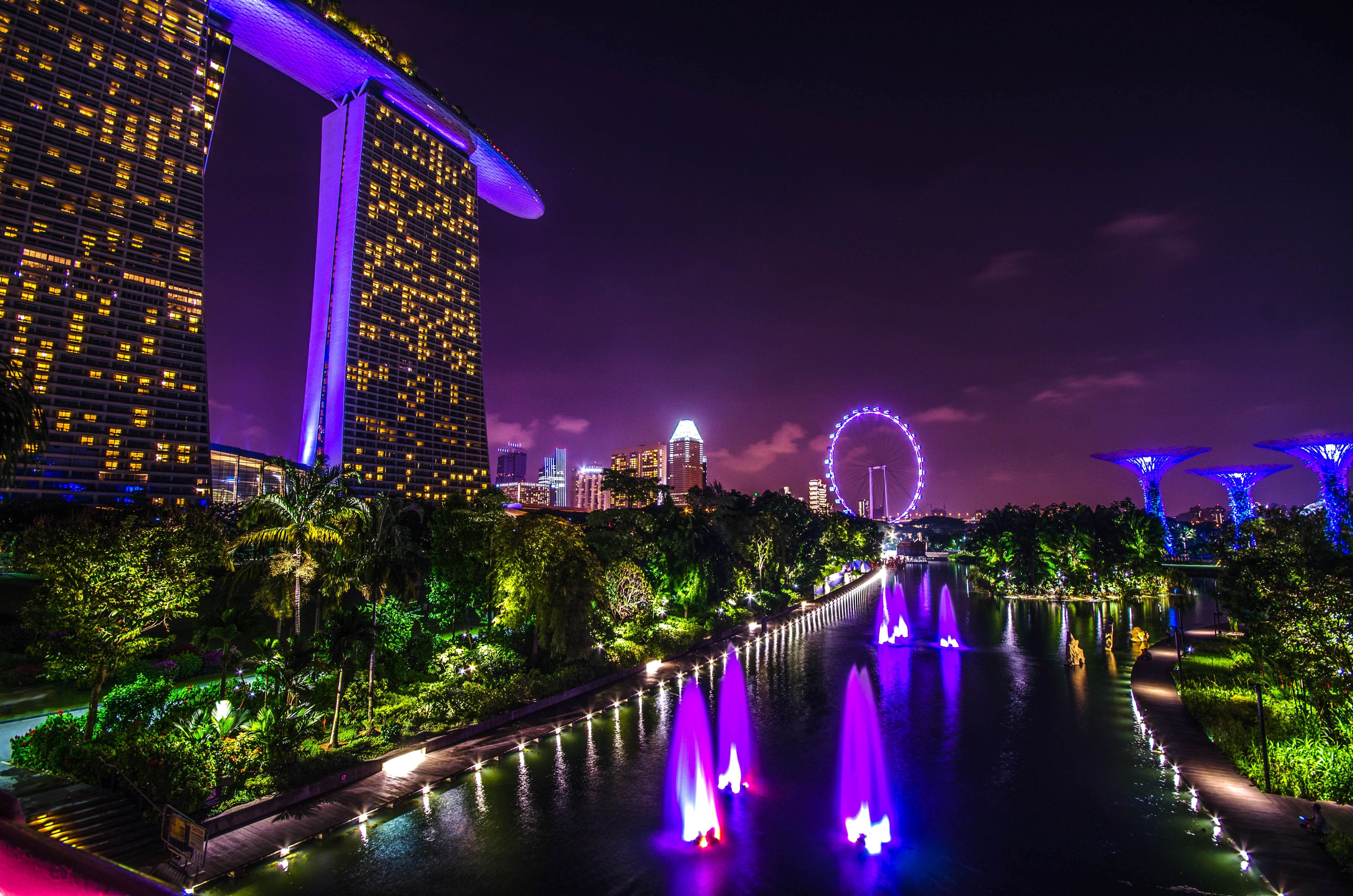 Marina bay of Singapore. © Pixabay