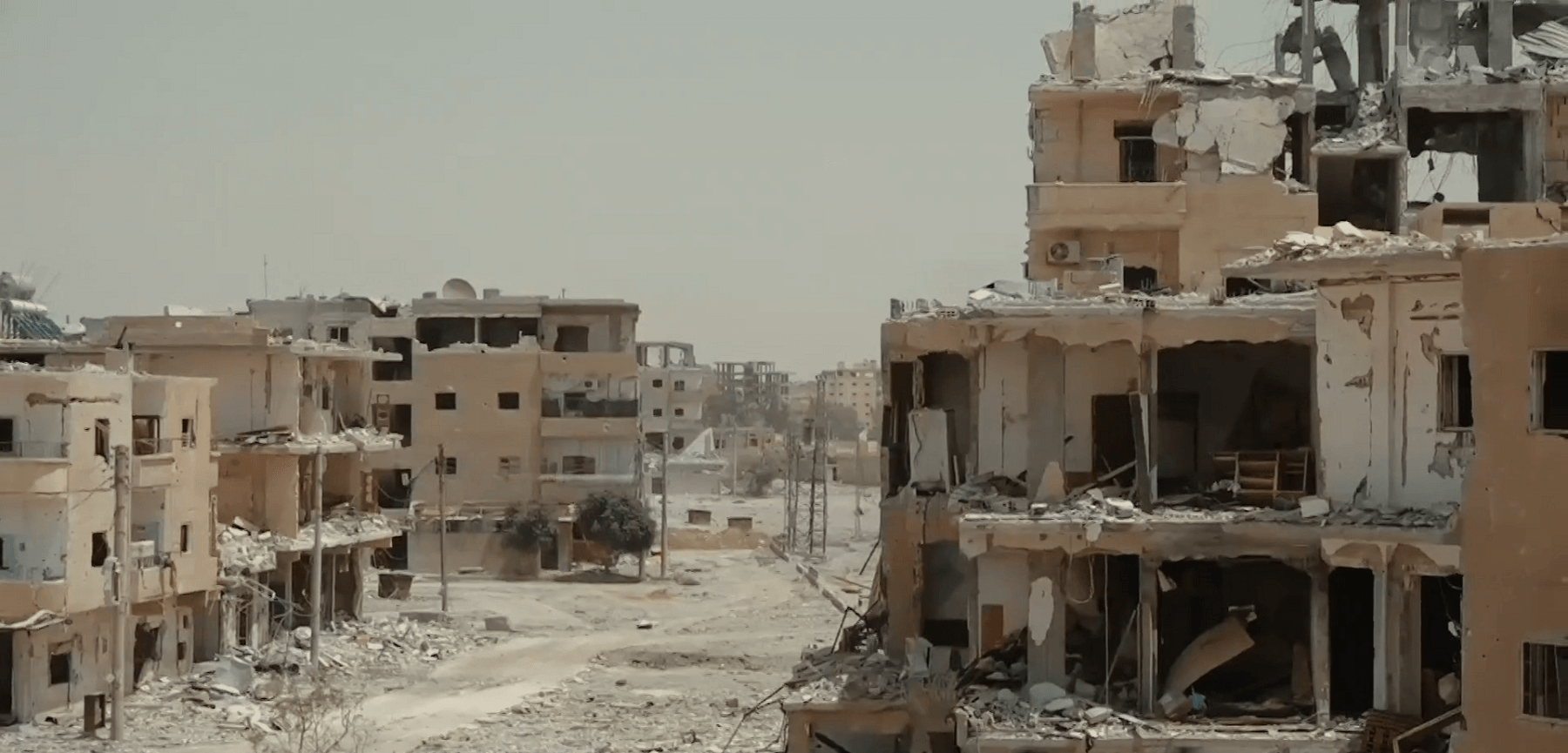 destroyed Raqqa