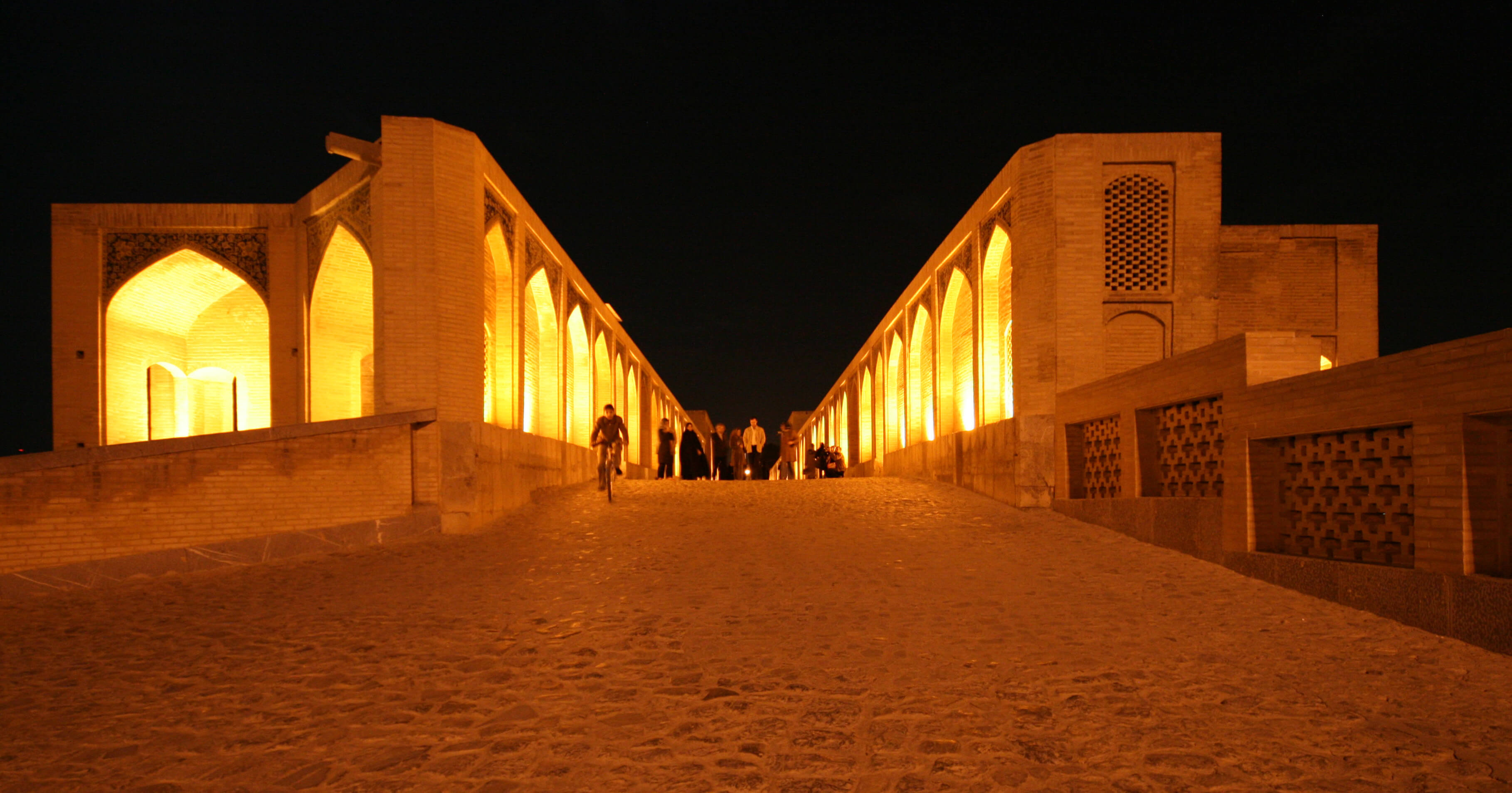 The Allahverdi Khan Bridge in Isfahan, Iran. Source: Bastian / Flickr