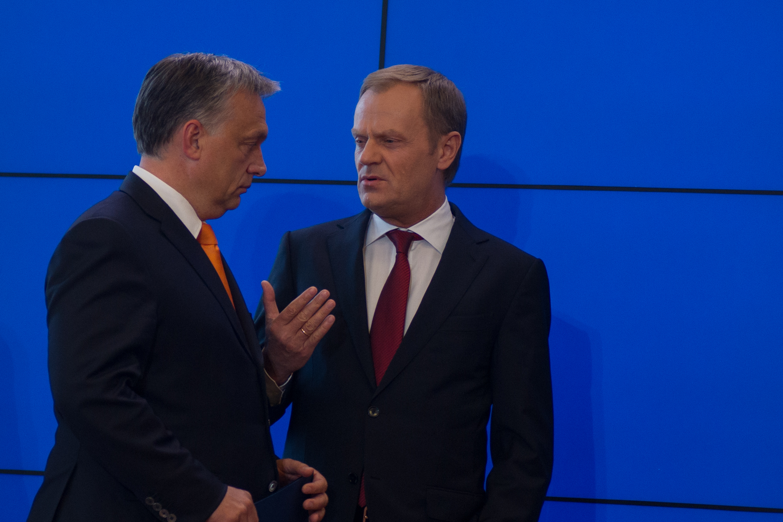 Donald Tusk and Viktor Orban. Source: WIkicommons