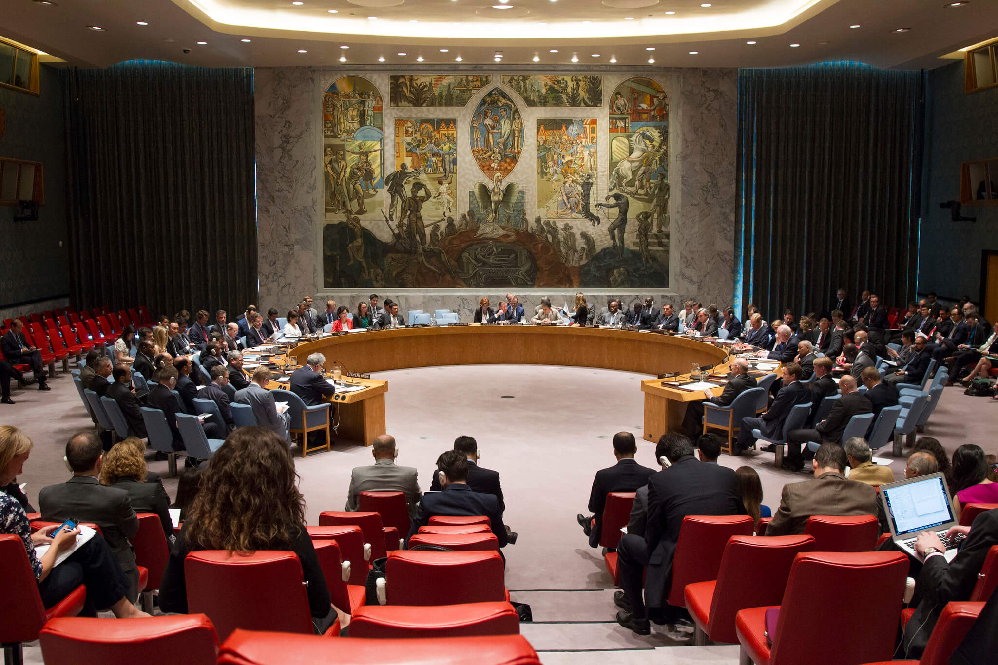 Erasto-The UN Security Council adopts the Resolution on a Joint Comprehensive Plan of Action (JCPOA) regarding Iran's nuclear programme on July 12 2015. UN Photo