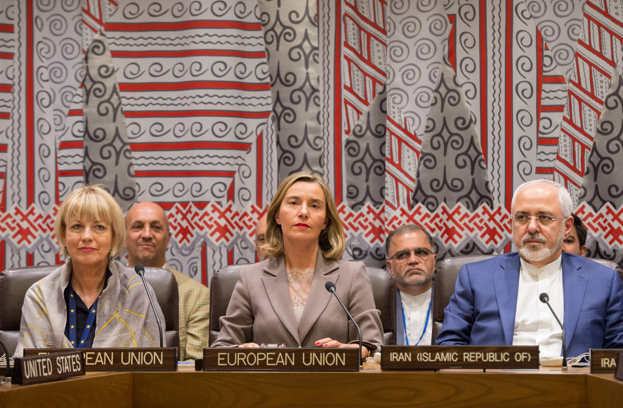 Erasto-Federica Mogherini hosts a EU3-E3+3 and Iran Ministerial Meeting on JCPOA in New York, September 2017. European External Action Service