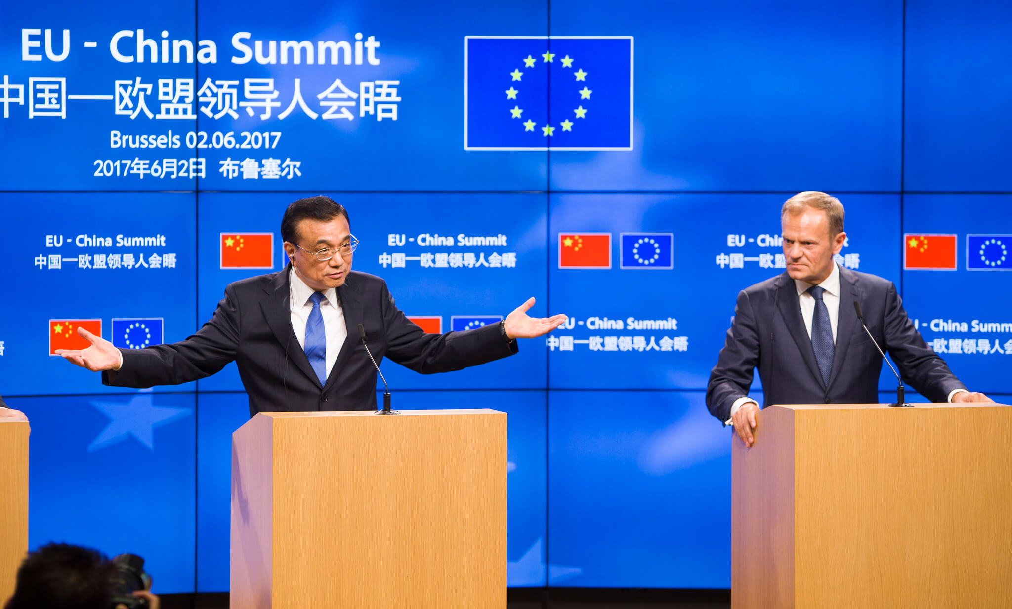 EU-China Summit in Brussels 2017 © European Council President / Flickr.