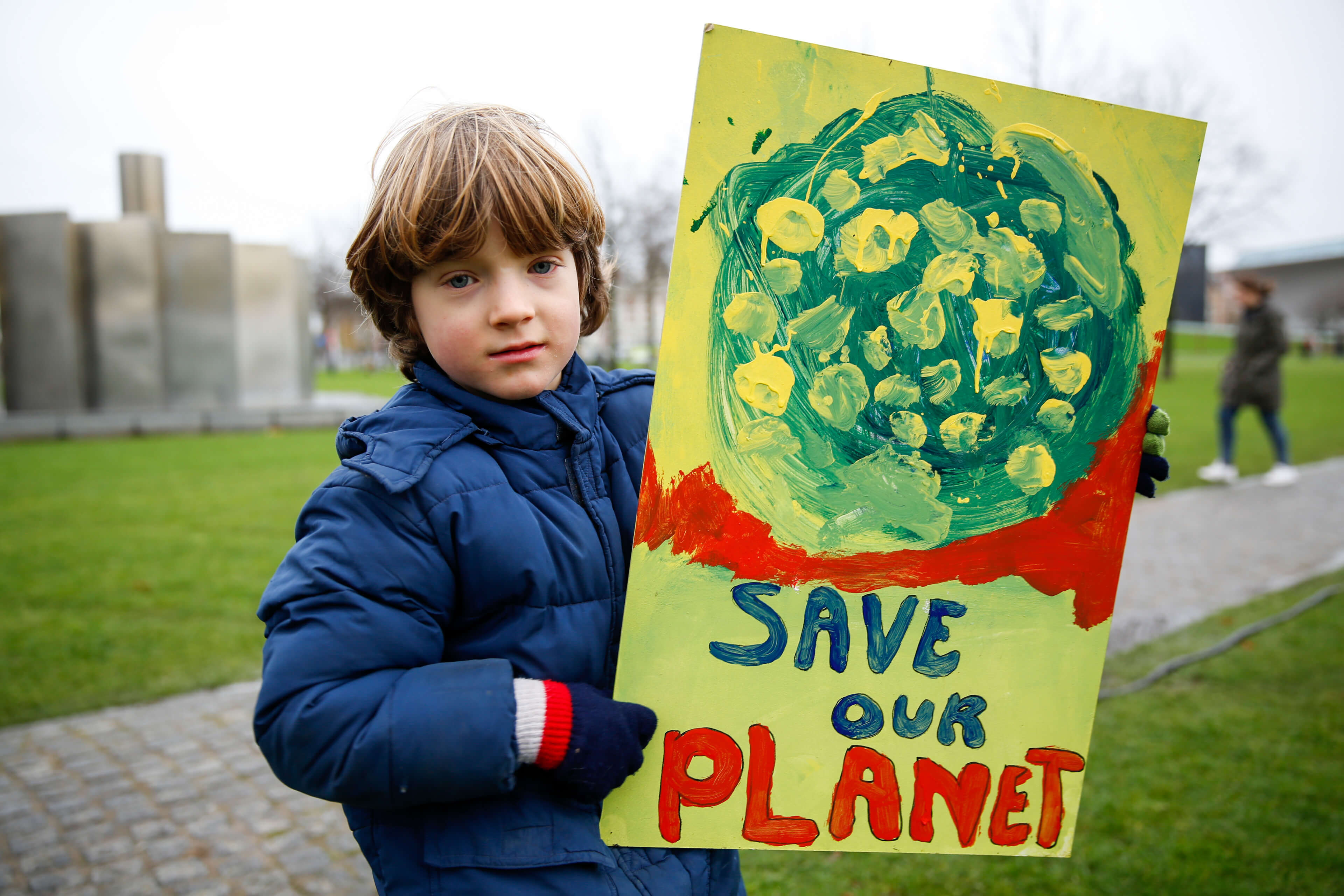 Climate parade in Amsterdam November 2015. © Greenpeace Nederland / Flickr