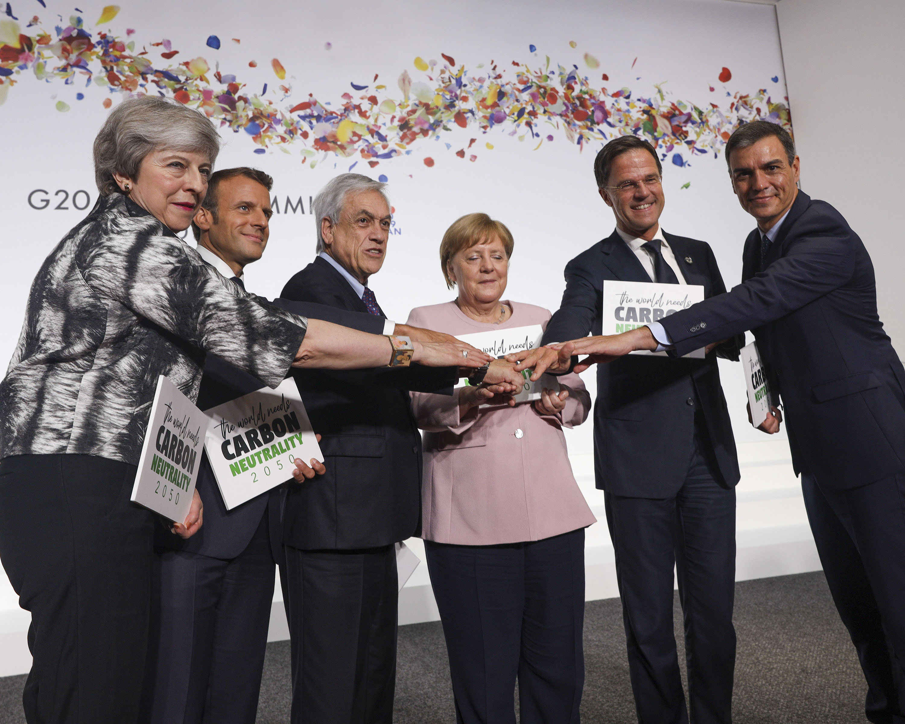 European leaders at the G20 Summit in Osaka