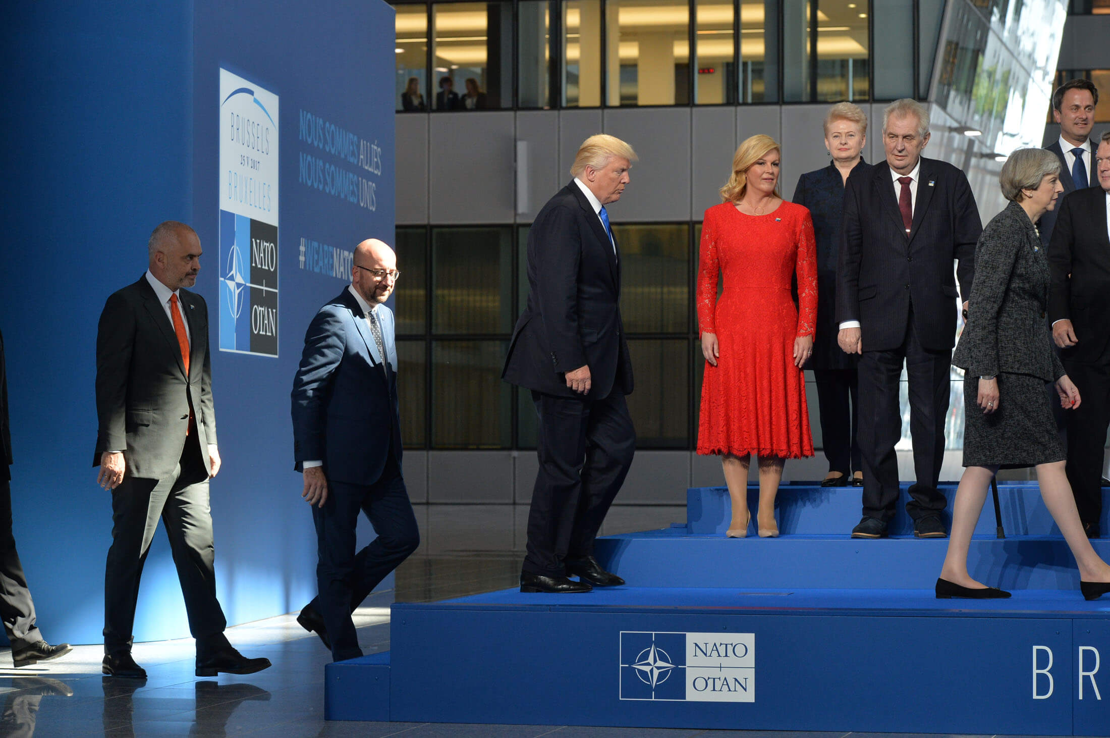 Janssens-Family portrait of NATO Heads of State and Government - Meeting of NATO Heads of State and Government in Brussels