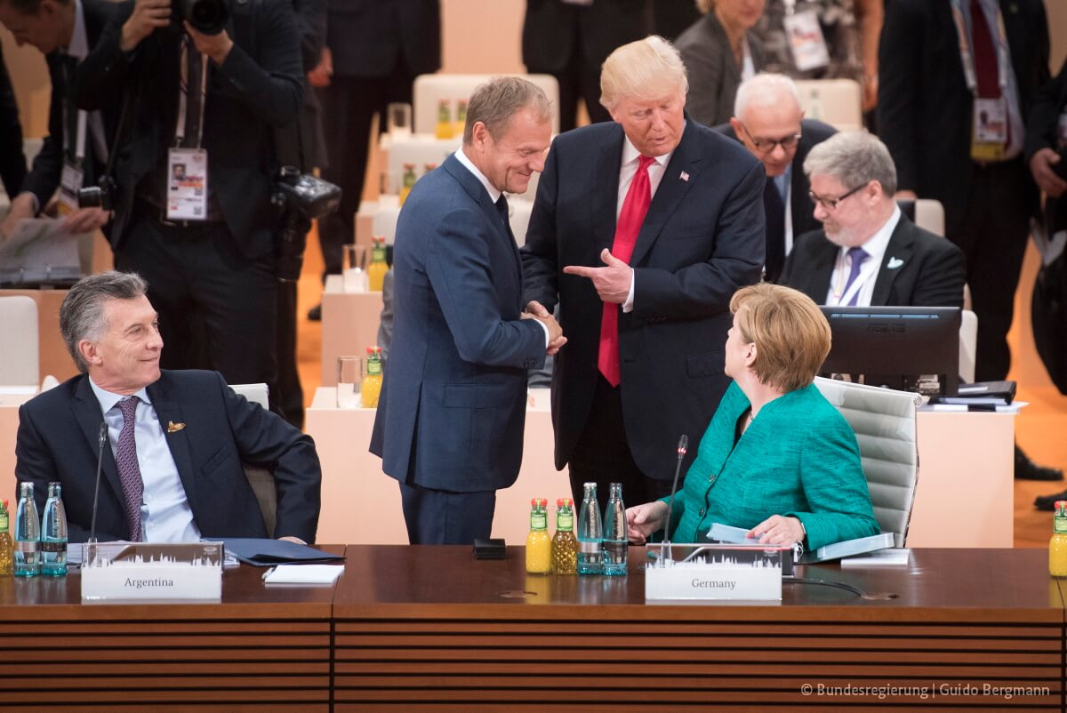 Janssens-foto-European Council President flickr - President Tusk at the G20 meeting in Germany