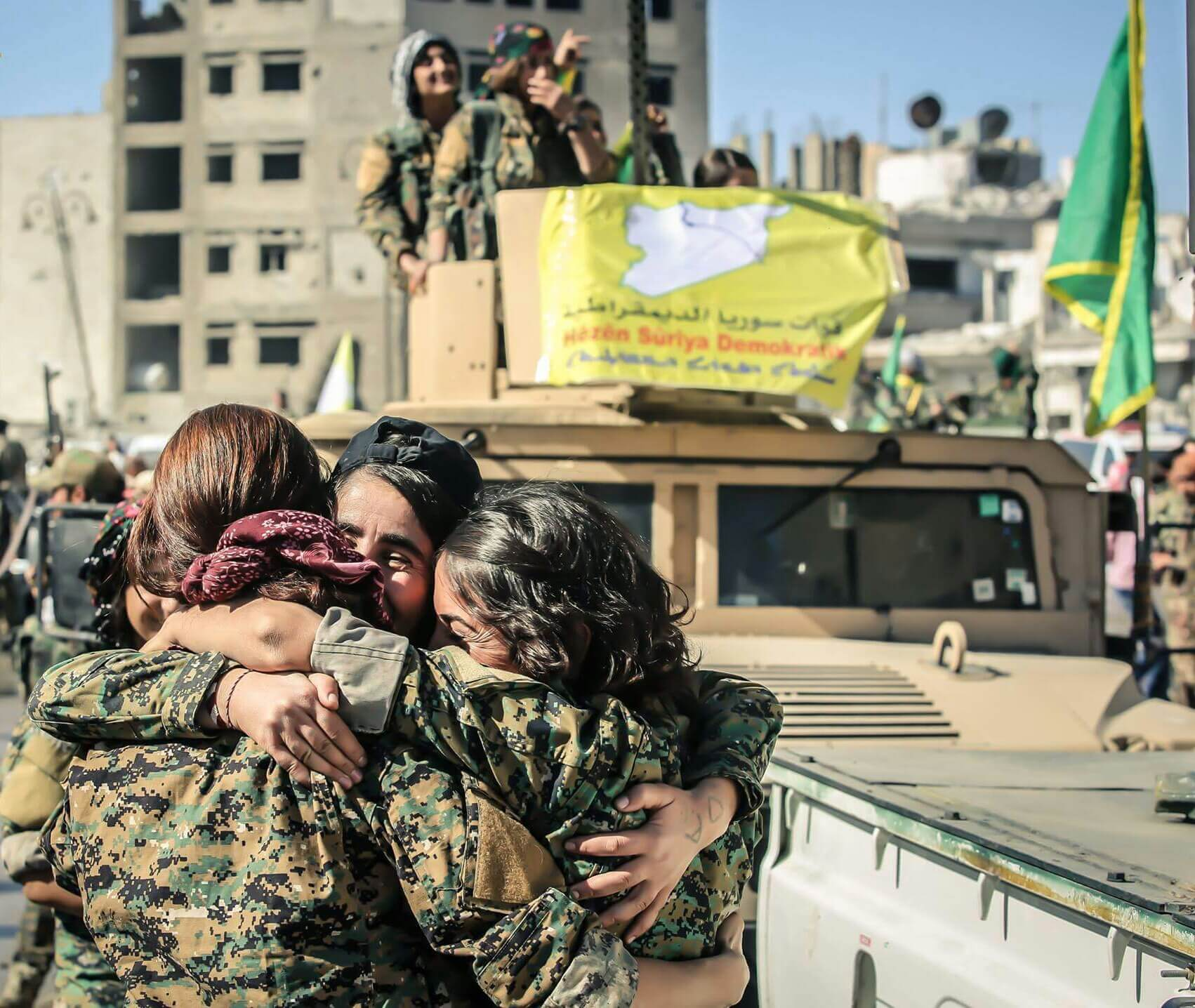 Female YPG-fighters in northern Syria in 2017. © Flickr - Kurdishstruggle _0.jpg