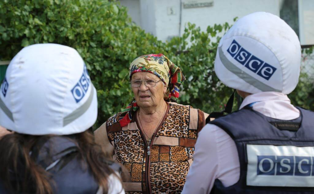 Klijn-foto- OSCE Special Monitoring Mission to Ukraine in the Donetsk region in 2017. © OSCE