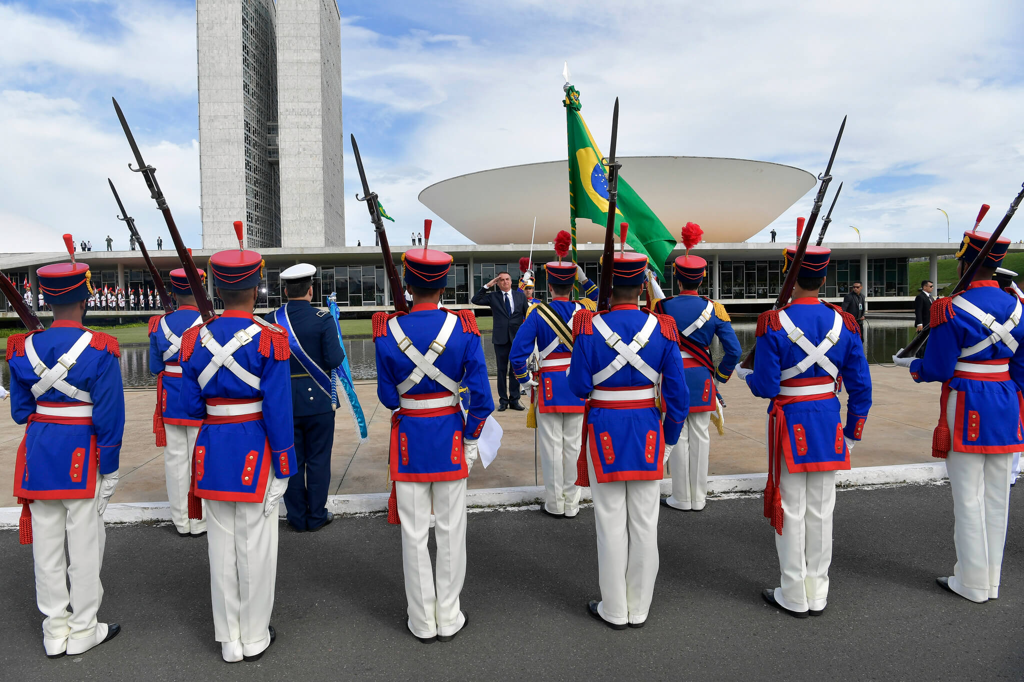 inauguration of president Bolsonaro