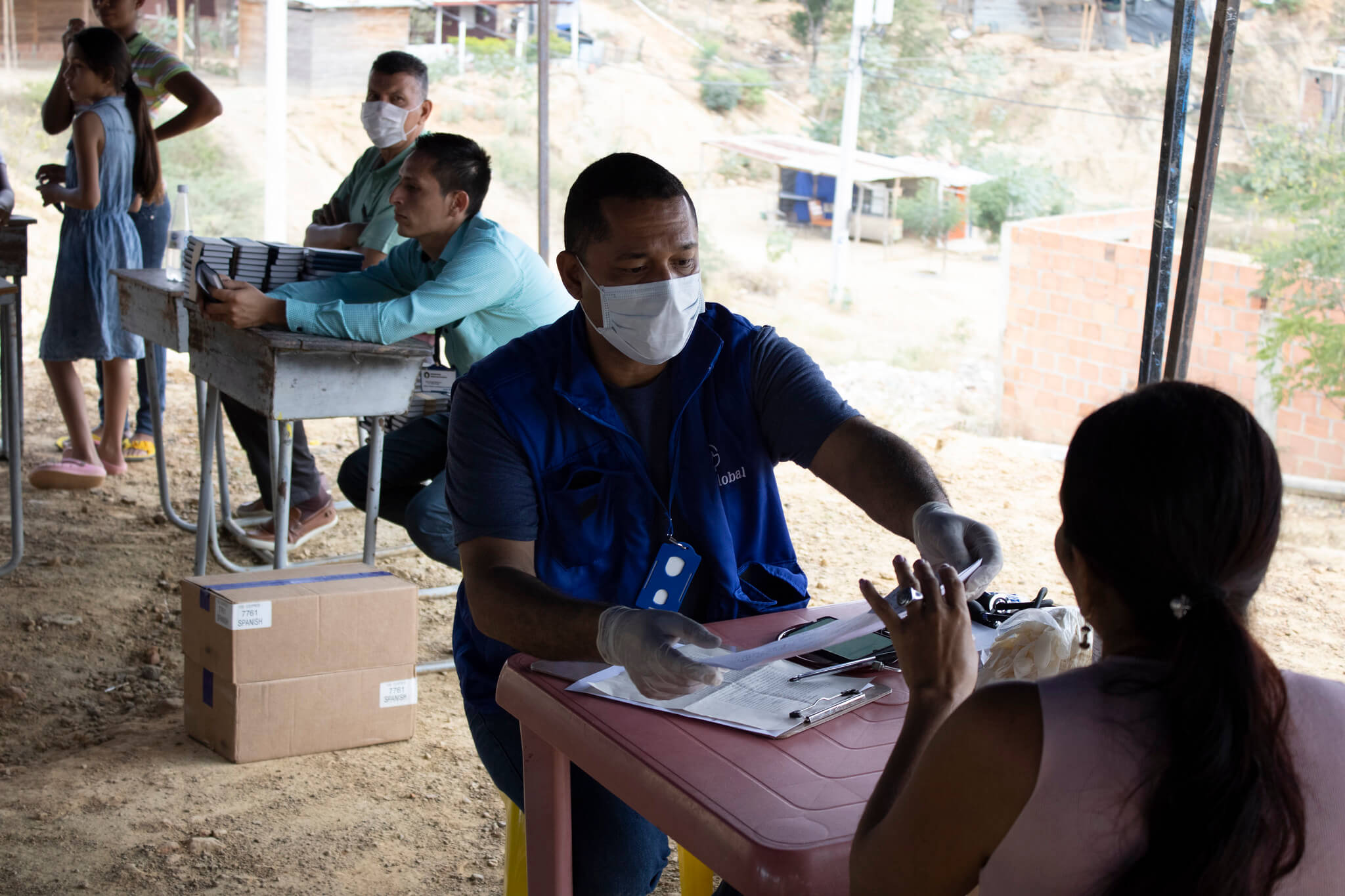 In March 2020, ngo MedGlobal conducted a medical brigade in Cúcuta, Colombia, a border city that has become an epicenter of Venezuelan migration. MedGloba