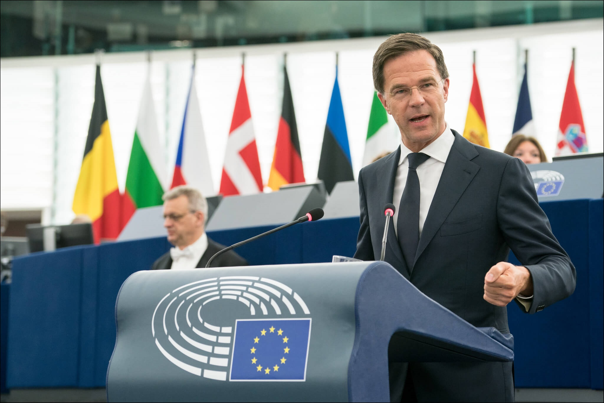 Prime Minister of the Netherlands Mark Rutte debated the future of Europe with MEPs and EU Commission First Vice-President Frans Timmermans on Wednesday.