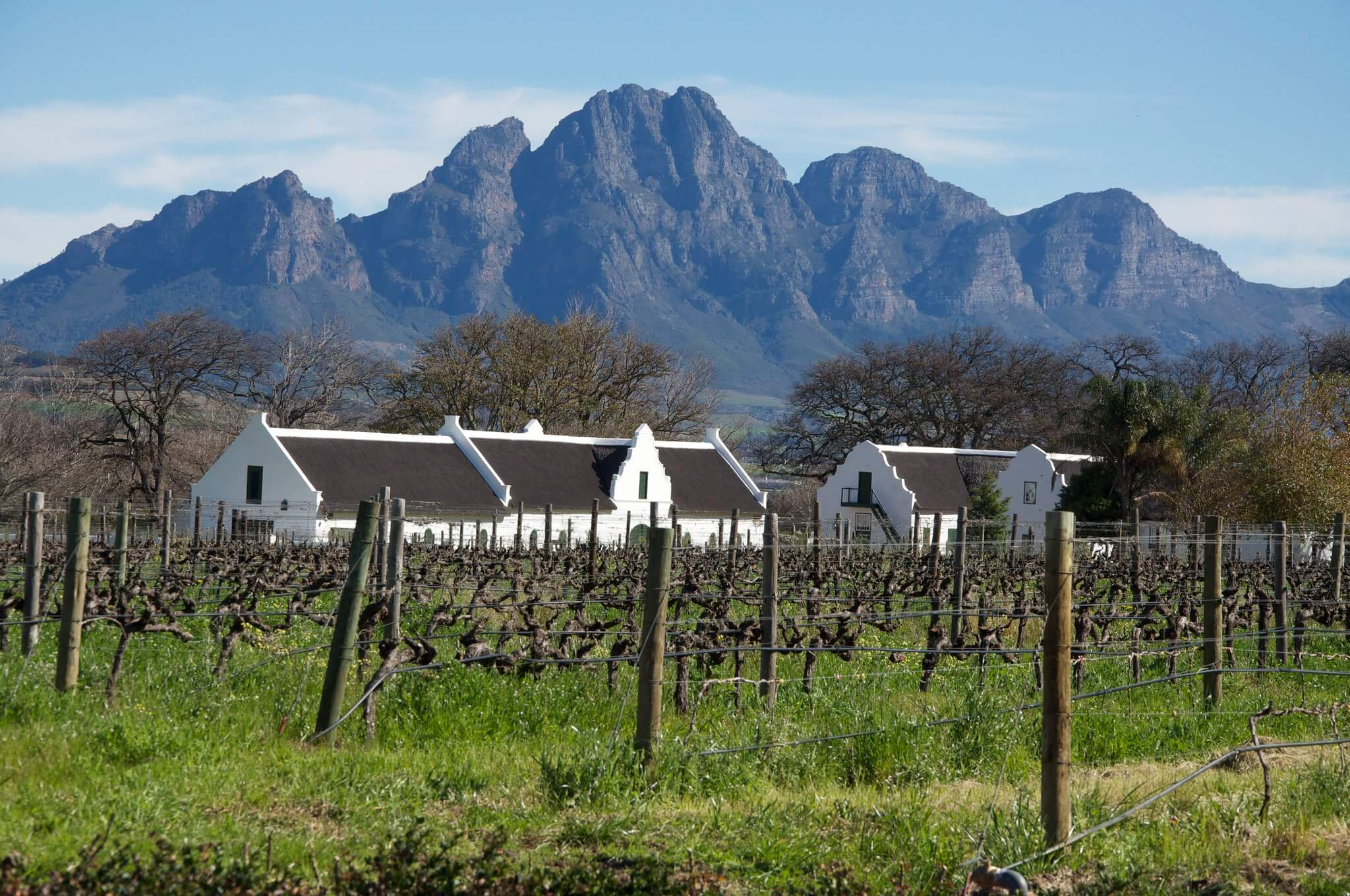 Links - Cape Dutch cottages at La Motte vineyard in the Western Cape, South Africa. Jon Connell - Flickr