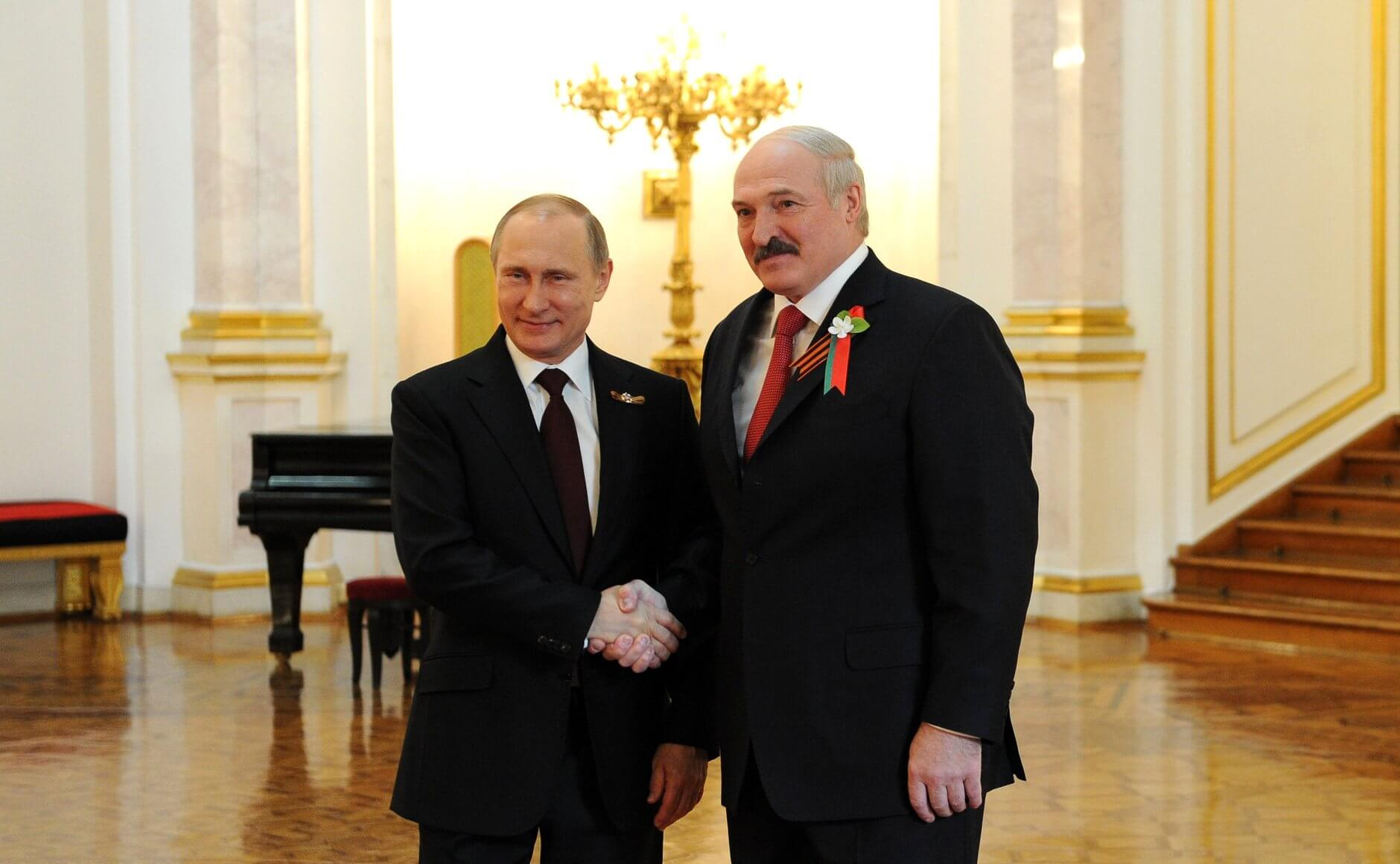 Putin and Lukashenko in 2015 - © Wikimedia Commons / www.kremlin.ru