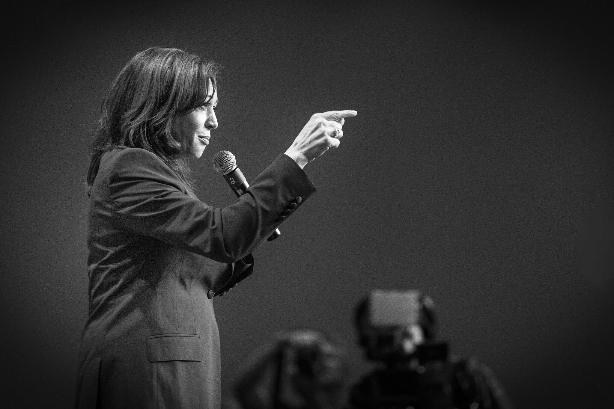 Kamala Harris at the Democrats Hall of Fame Celebration 2019 © / Flickr / Lorie Schaull