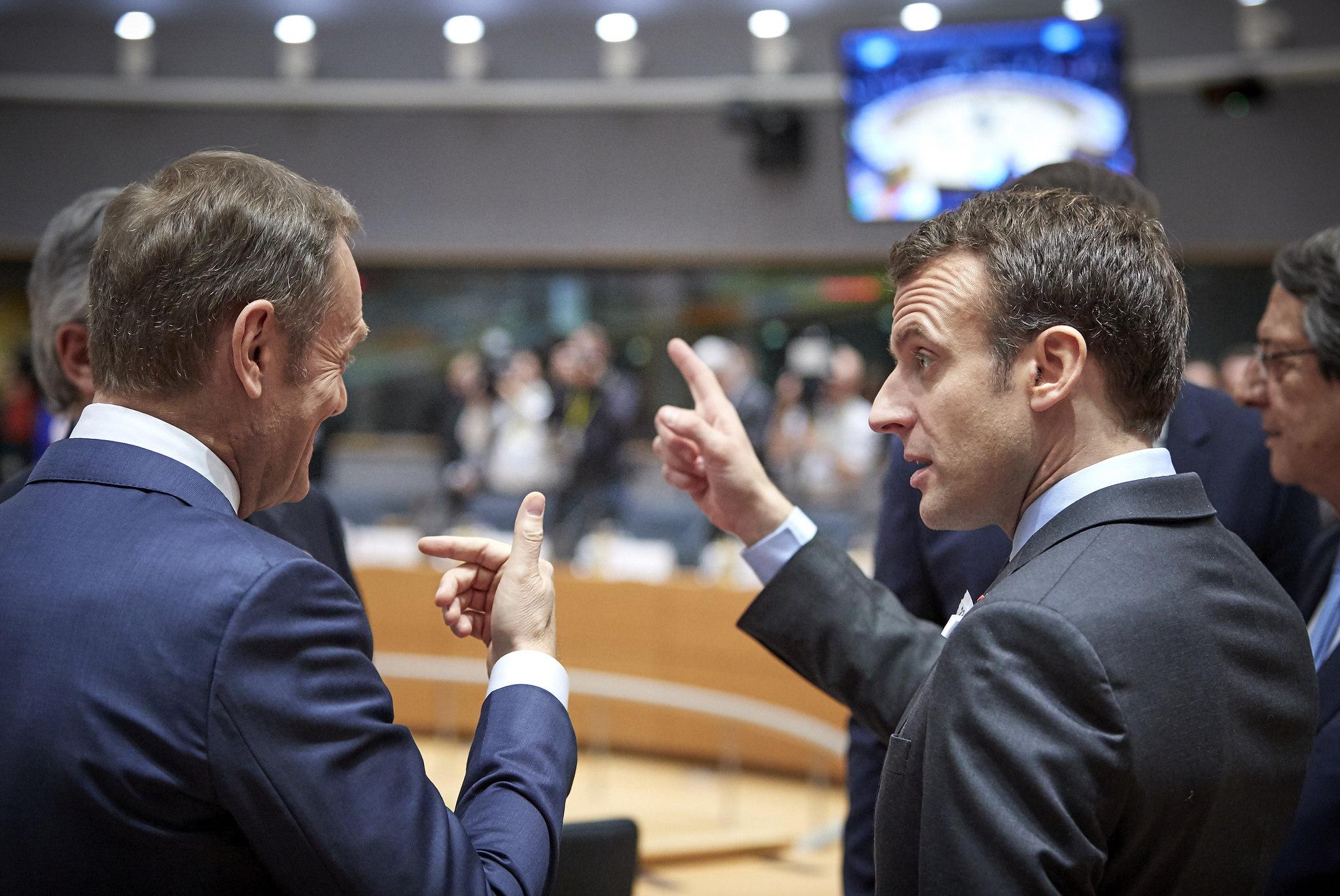 President Tusk at the European Council meeting - European Council President