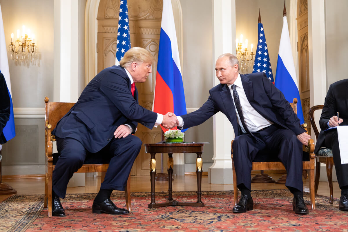 Trump and Putin in Moscow, 16 July 2018. © Sheelah Craighead, White House Photo / Flickr