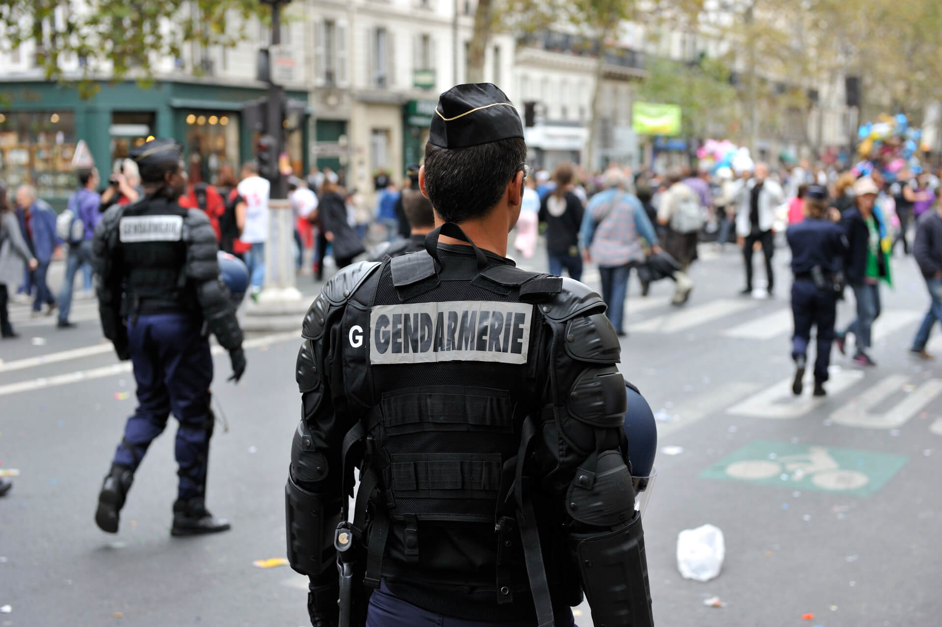 Gendarmerie in Paris