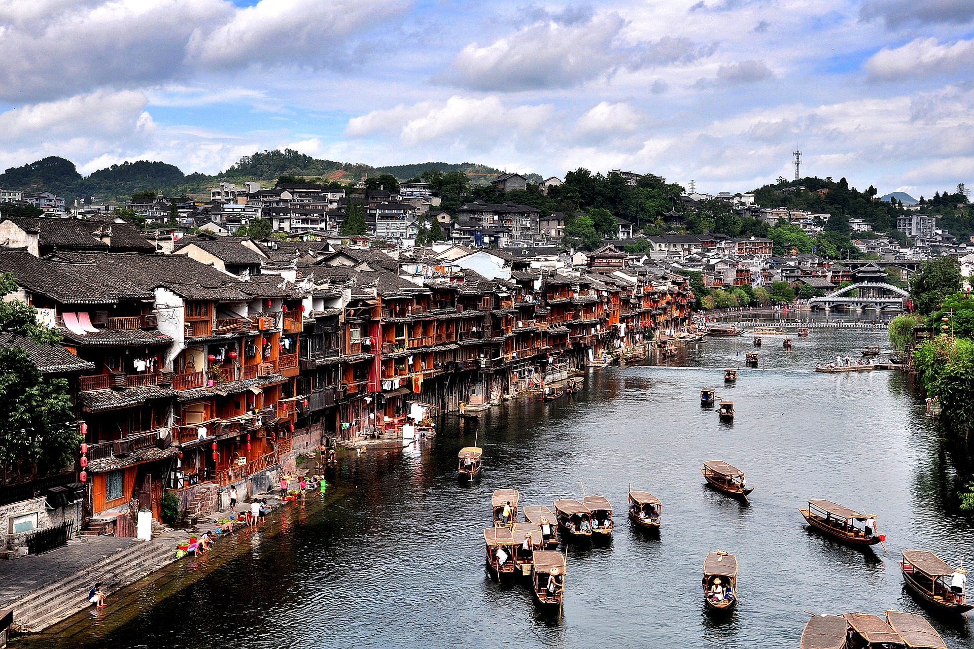 The city of Tuojiang