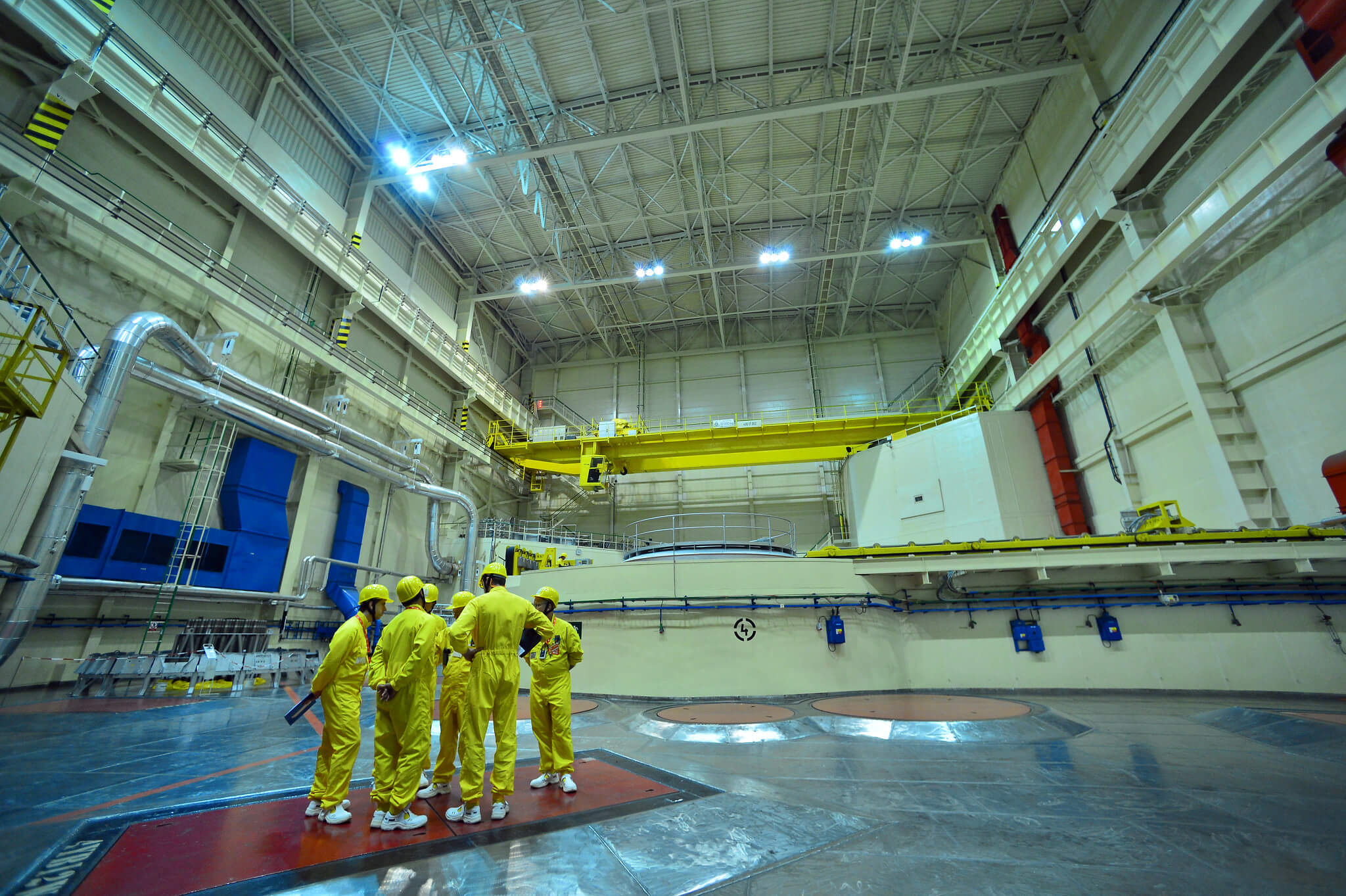 Training exercise at the Dukovany nuclear power plant the Czech Republic in 2015. © IAEA Imagebank