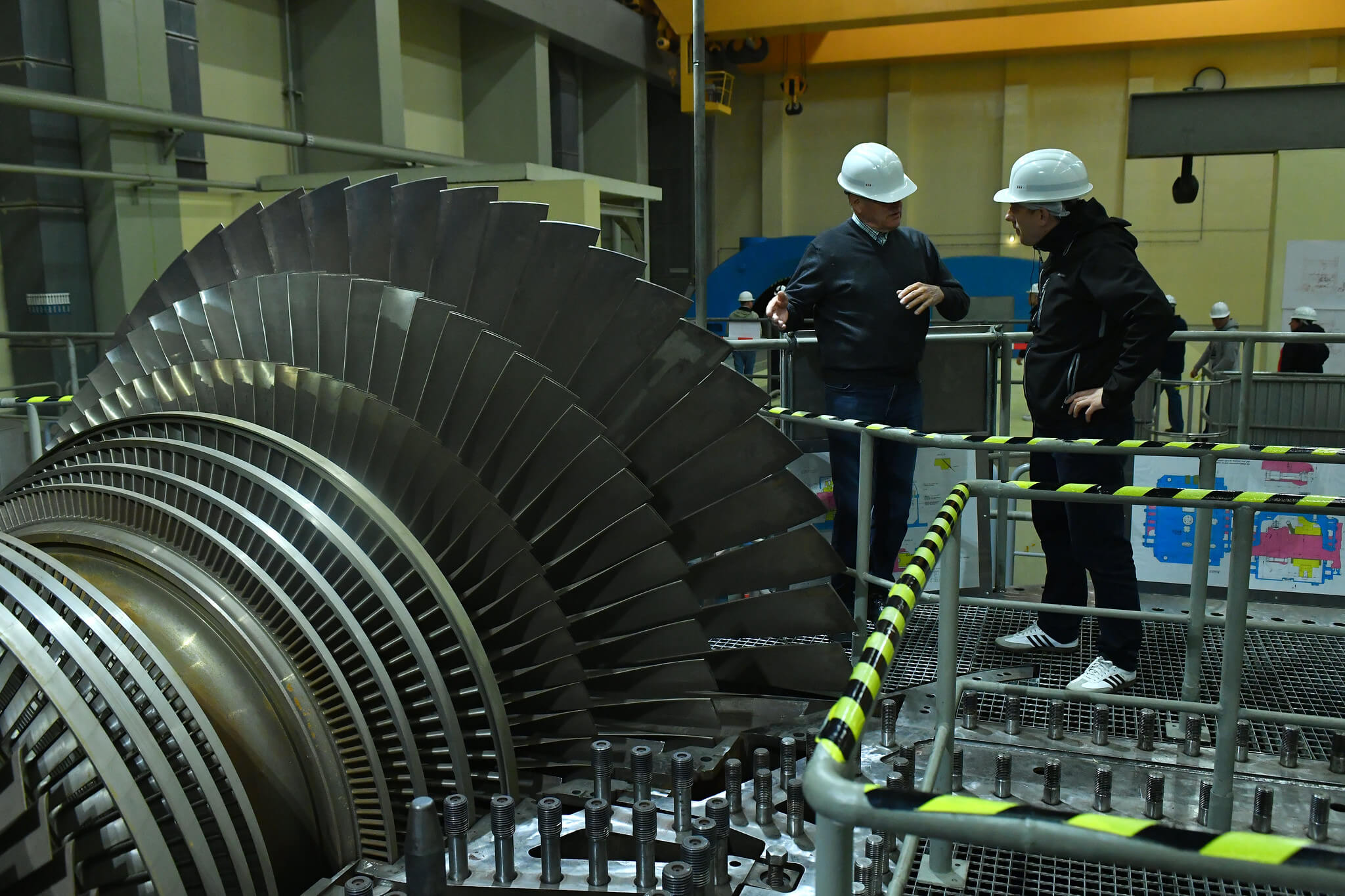 Training in 2018 at the never-used Zwentendorf Nuclear Power Plant, in Austria. © IAEA Imagebank