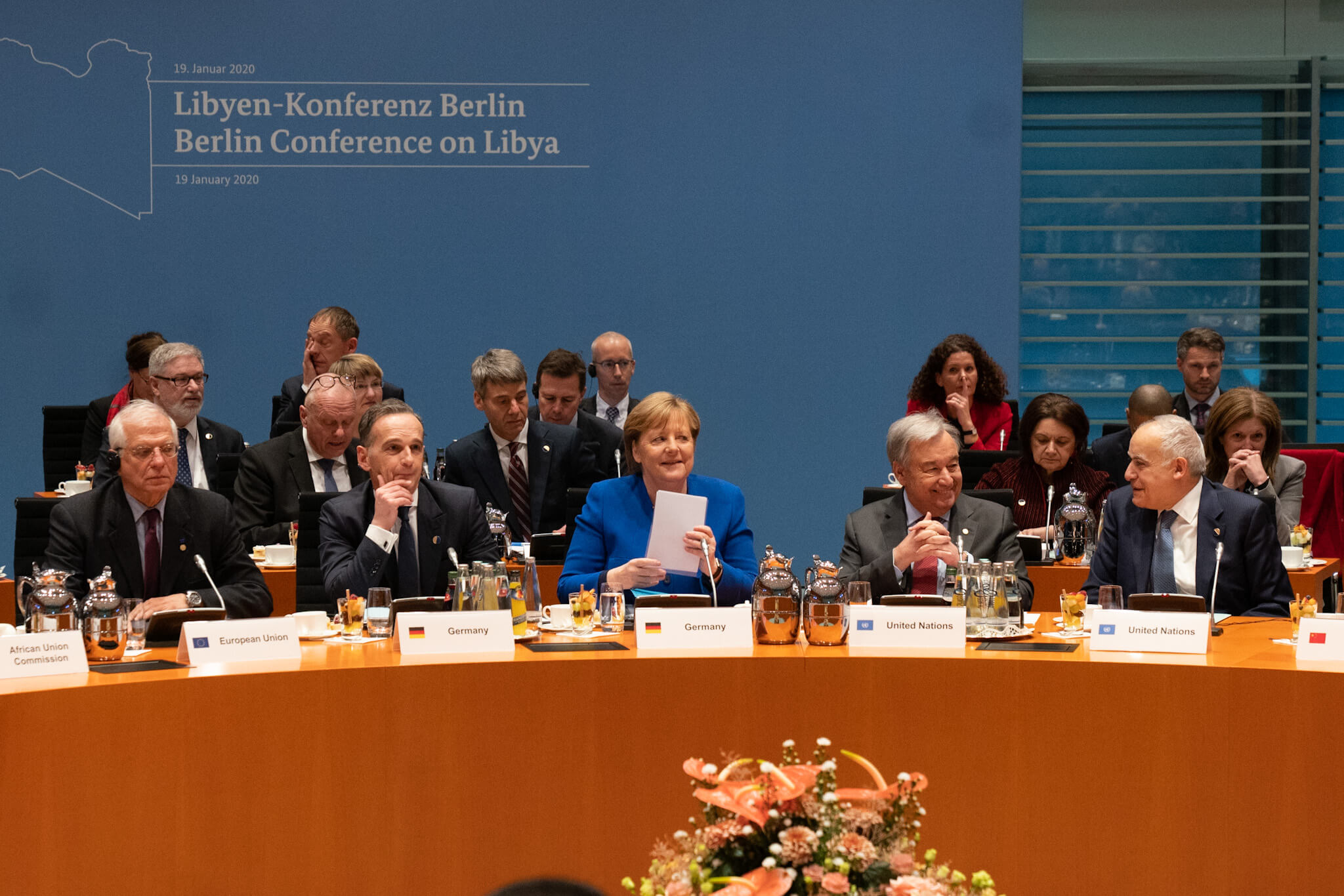 "VanHeek-On 19 January 2020, Germany hosted the Berlin Conference aiming to support the UN in ""unifying the international community in their support for a peaceful solution to the Libyan crisis"" - US State Department"