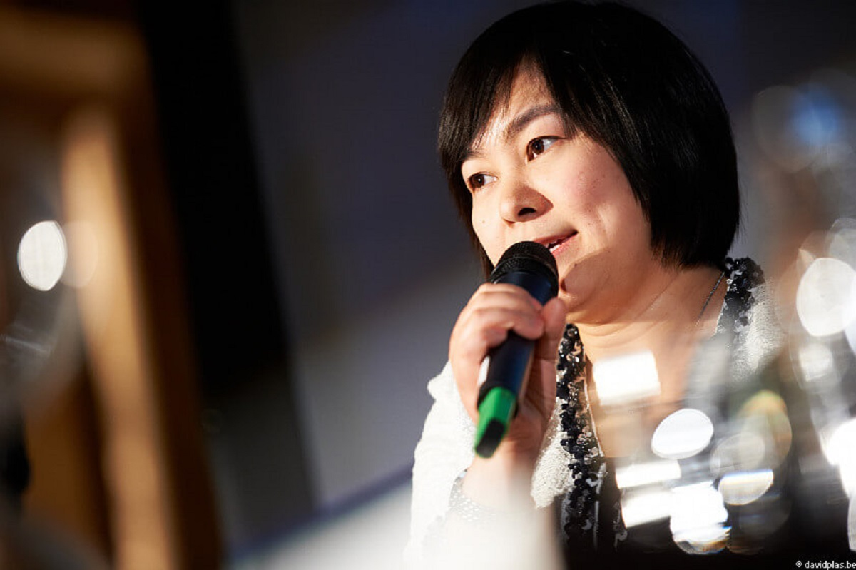 Ms. Hua Chunying in Brussels, 2011. ©David Plas/Flickr