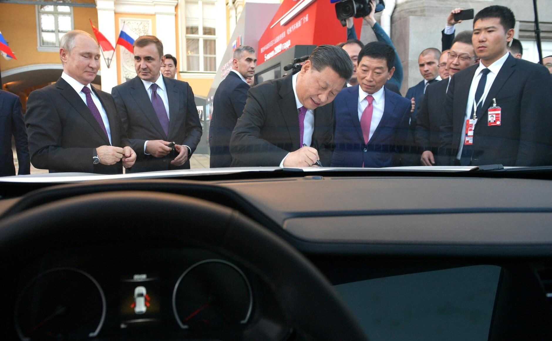 Vladimir Putin and Xi Jinping in 2019. Kremlin.ru - Wikicommons