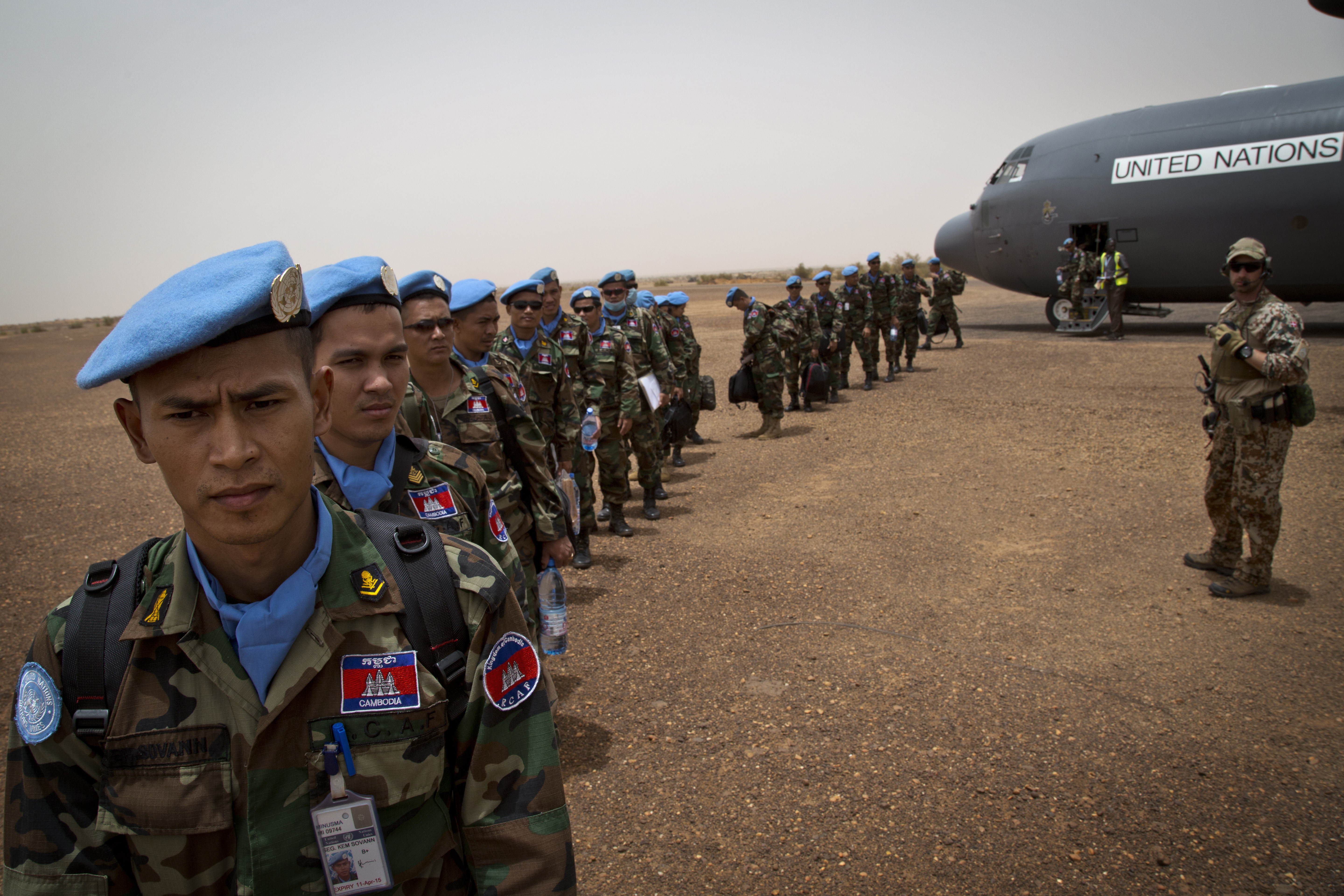 Cambodian peacekeepers deployed to Northern Mali. © United Nations Photo - Flickr