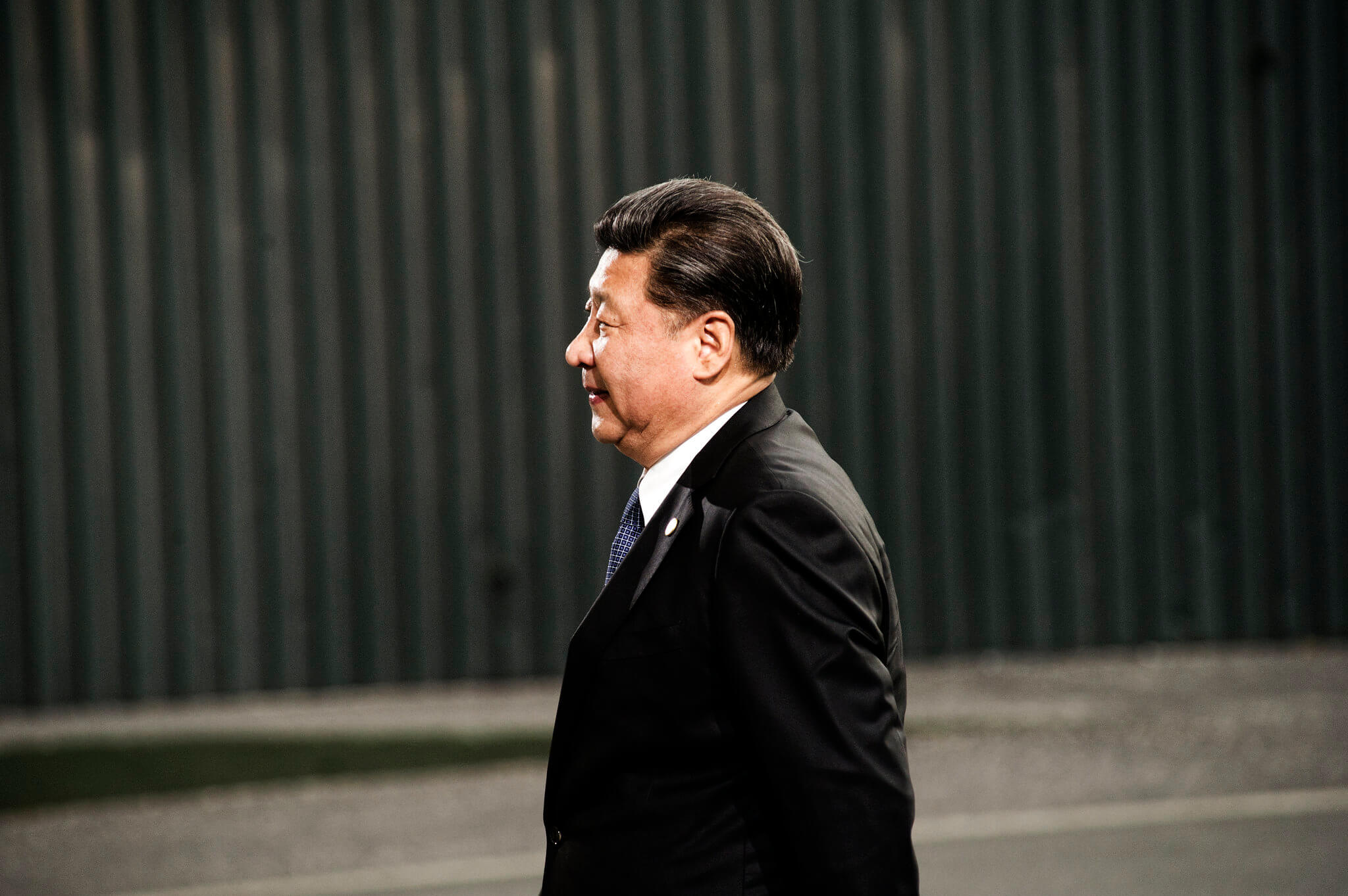 Chinese president Xi Jinping arrives at a meeting in Paris. © COP PARIS/Flickr