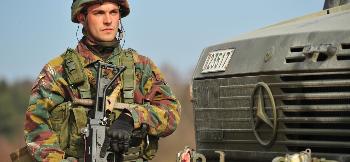 Belgisch parlement en militaire interventies: speler in de marge?