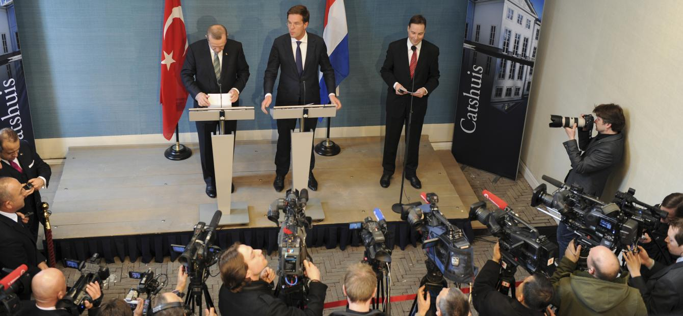 Turks-Nederlandse betrekkingen sterk Europees ingekaderd