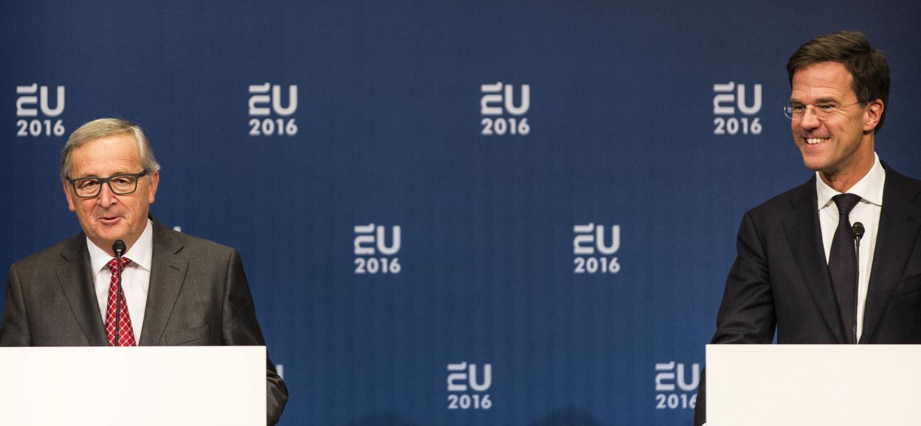 Rutte en de Europese januskop