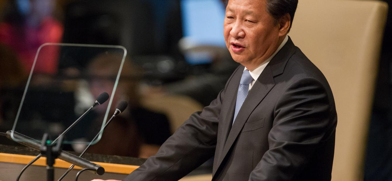 China sorteert voor op mondiale politiek-economische sleutelpositie
