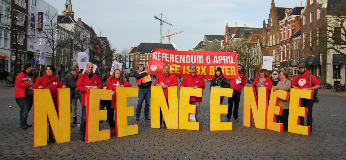 Referenda in Europa beproeven verdragen en vertrouwen