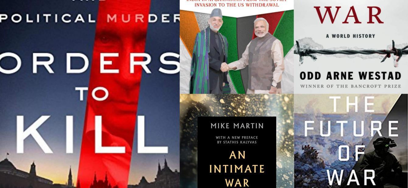 Nieuw Verschenen: politieke moorden en (koude) oorlogen