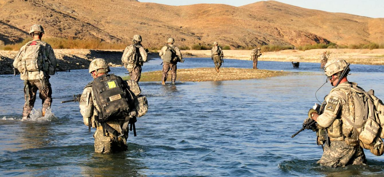 The hand-and-water Tale: Options for the West in Afghanistan
