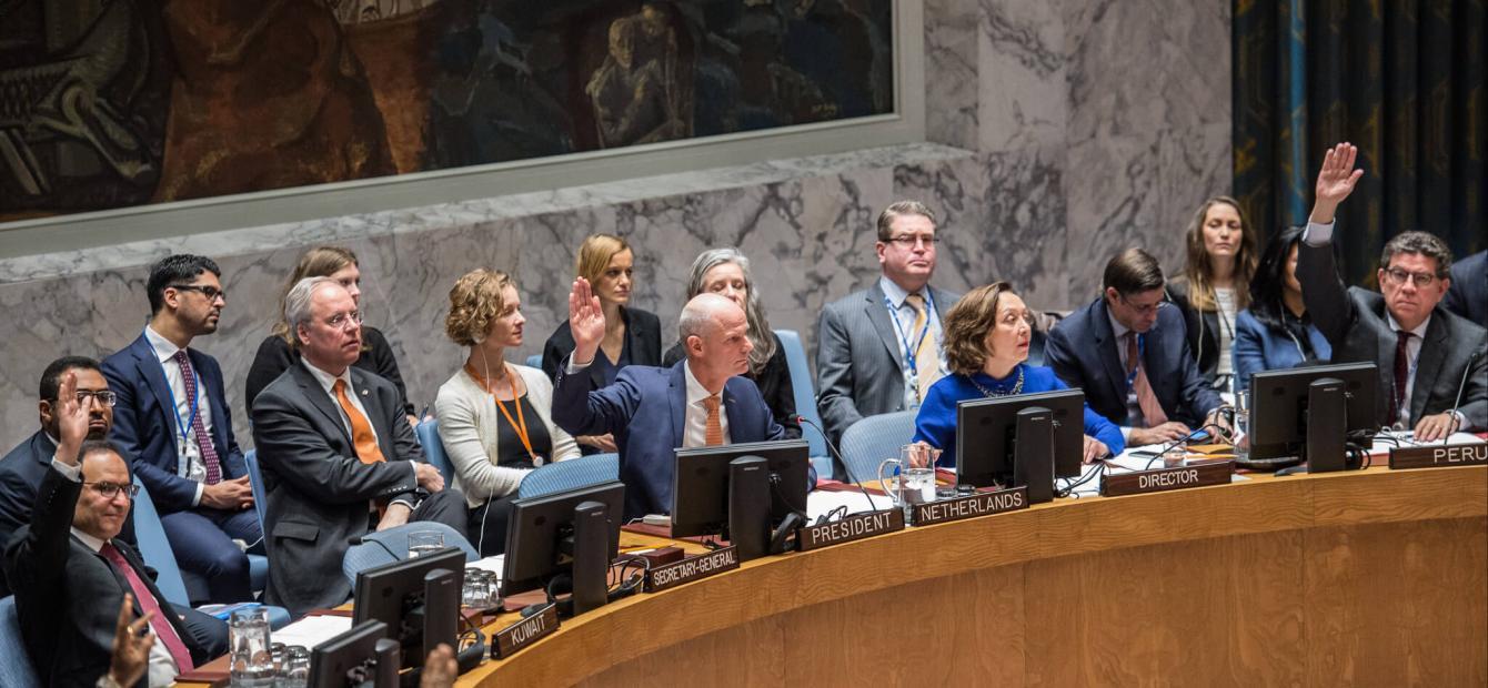 Het Nederlandse dilemma in de VN-Veiligheidsraad