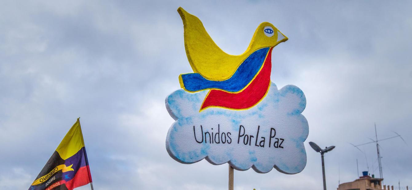Colombiaanse verdeeldheid in de weg van vrede?