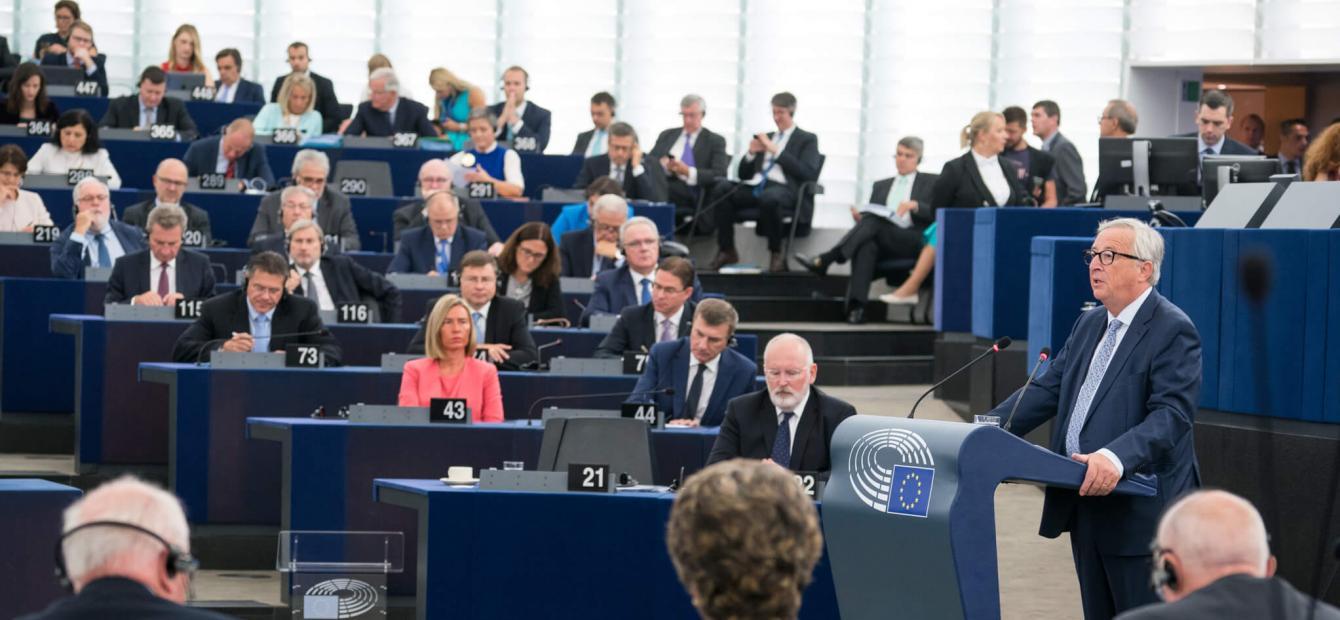Een verdeeld en onmachtig Europa als speelbal