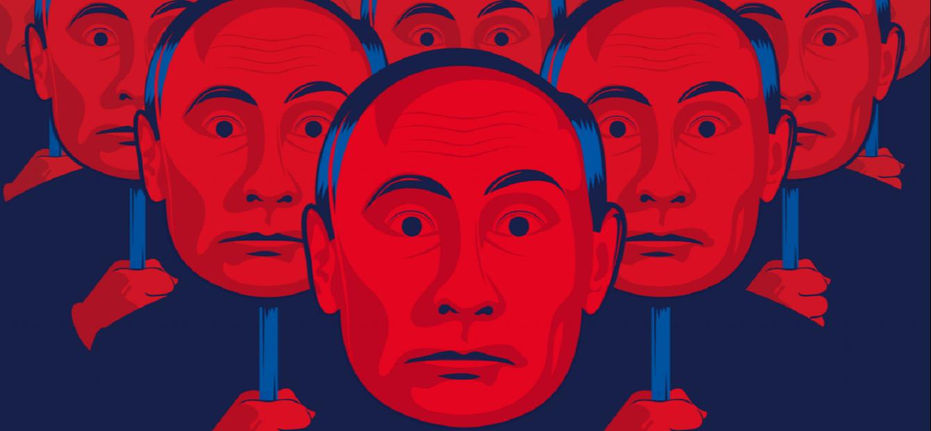Een onthullende reconstructie van Poetins opmars