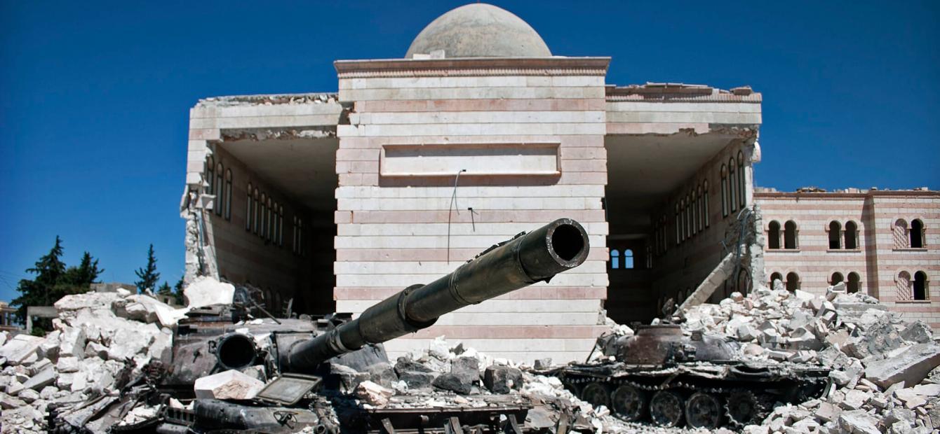 De Syrische mini-wereldoorlog woedt verder