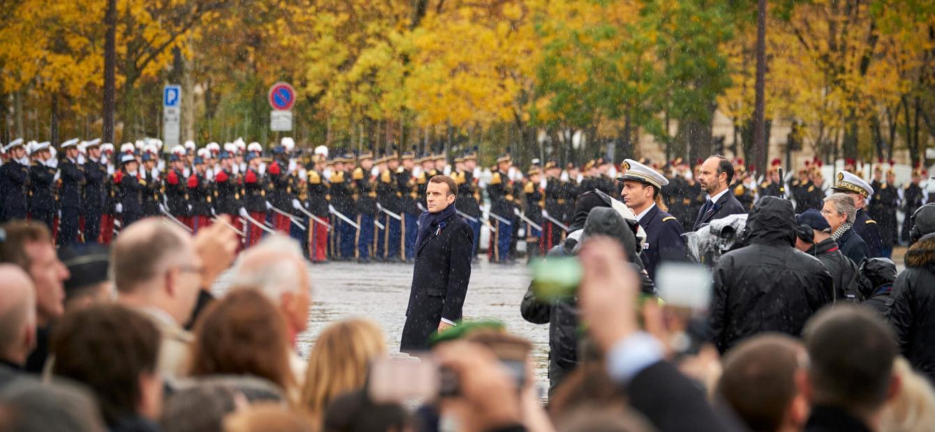 De Europese verkiezingen als lakmoesproef voor Macron