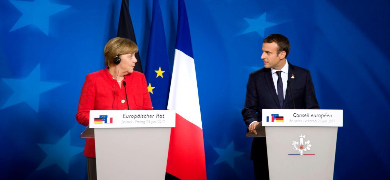 Tweeluik Frankrijk-Duitsland: Europese leiders in problemen?