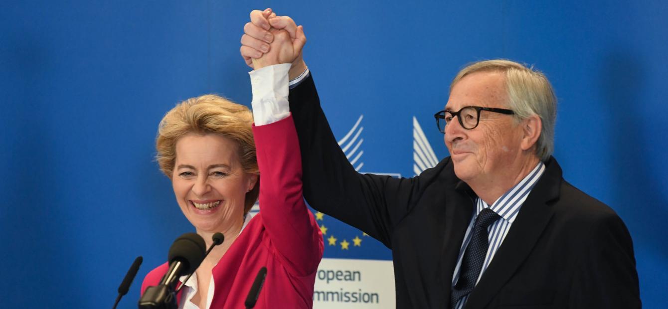 De ambities waar Juncker en Von der Leyen op vastlopen