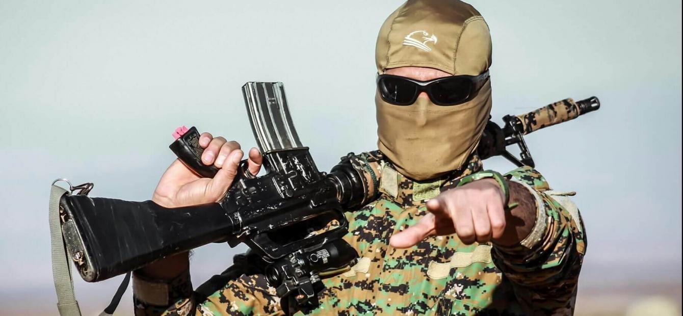 De Arabische Lente en paramilitair geweld in Syrië en Irak
