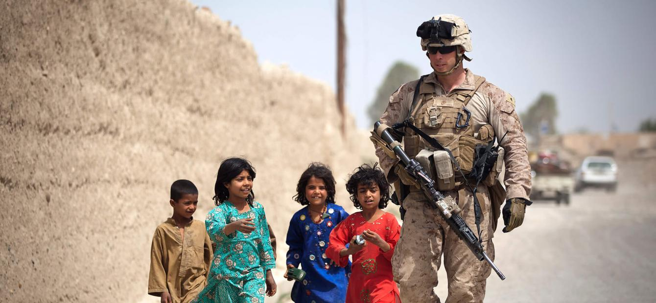 The end of the American era in Afghanistan: a personal view