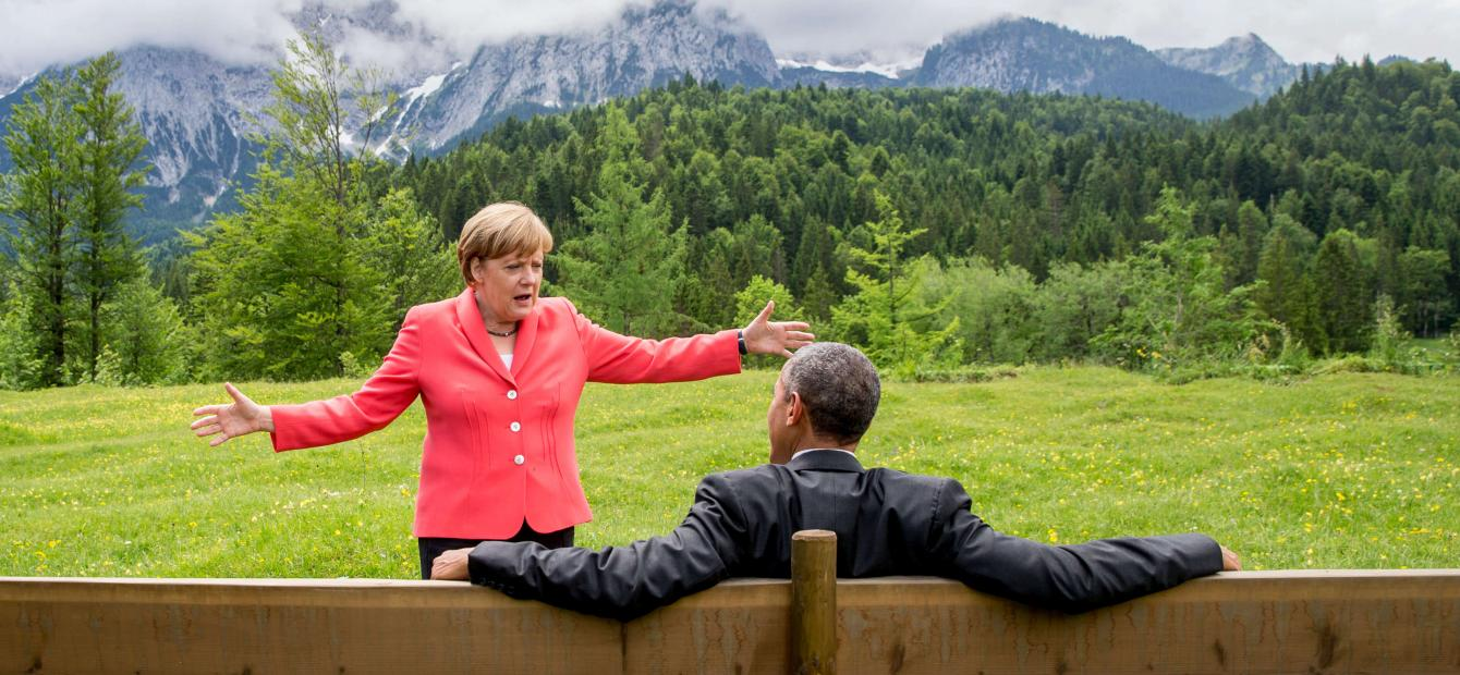 Merkel's reciprocal relationship with the US